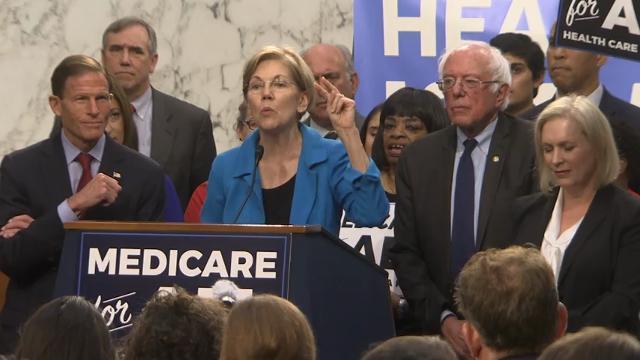 Sanders unveils 'Medicare For All' bill