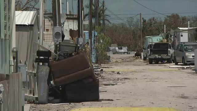 Florida Keys residents cope with loss after Irma