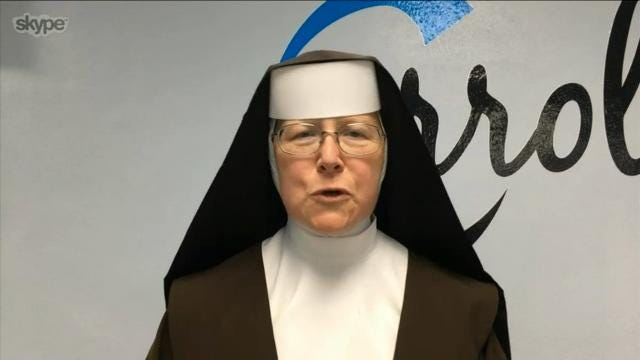 Florida nun had to Google how to start chainsaw