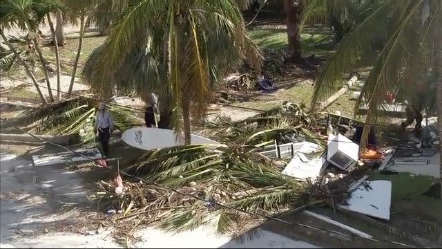 1st responders search for victims in Fla. Keys