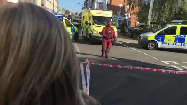 Raw: London Blast a Terrorist Incident