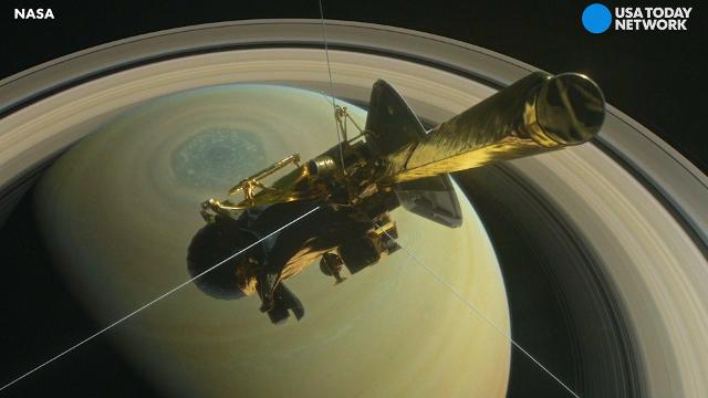 Cassini finale: spacecraft plunges into Saturn after 20 ...