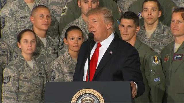 Trump: 'Commitment to Eradicate' Terrorists