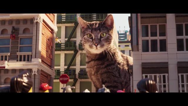 Meowthra goes Godzilla in 'The Lego Ninjago Movie'