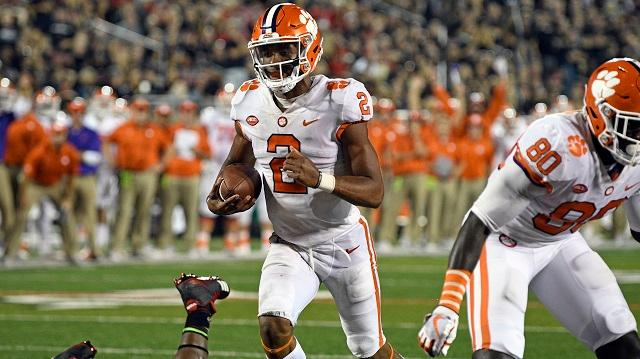 Amway Coaches Poll Week 3: Clemson wins big