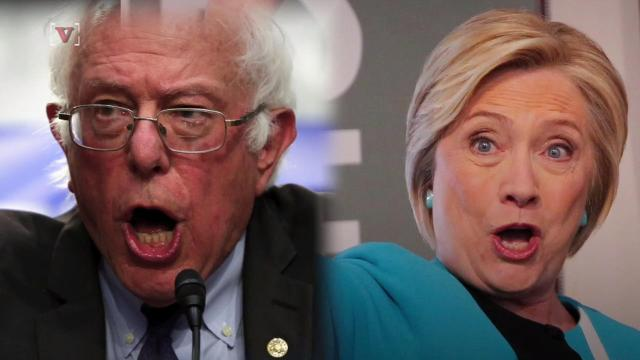 Hillary Clinton attacked Bernie Sanders, and now he's firing back
