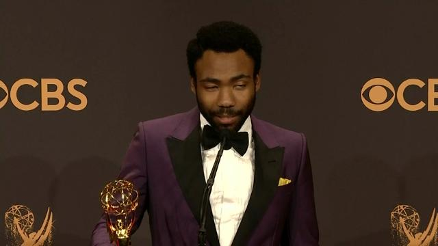 For three African Americans, it was a night for the record books at the Emmys