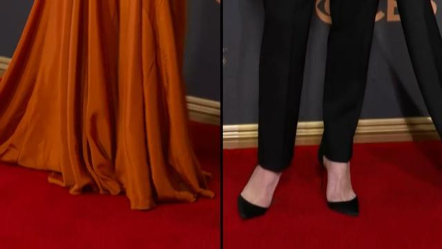 Stars sparkle on Emmys carpet