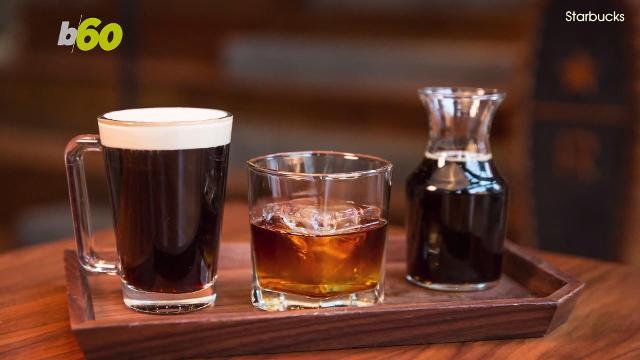 Starbucks releases its whiskey-flavored coffee