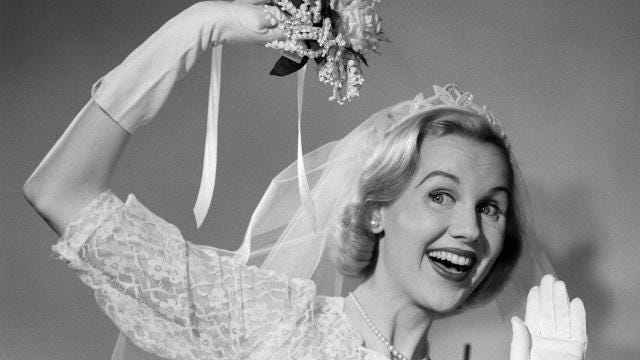 The origins behind these wedding traditions are wacky