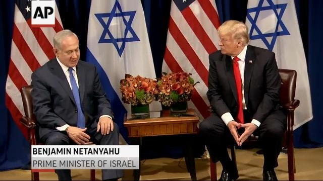 Trump: Giving Mideast peace 'an absolute go'