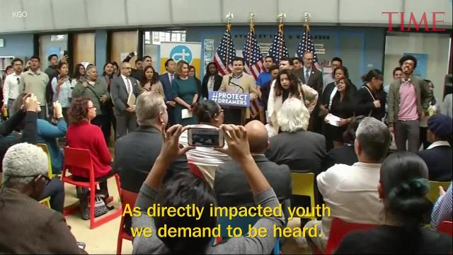 Nancy Pelosi gets shut down by young immigrants over DACA deal