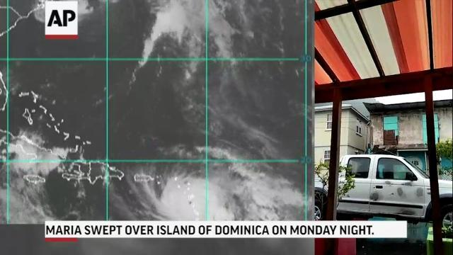 Category 5 Hurricane Maria menaces Caribbean