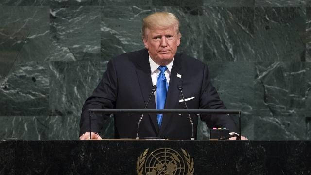 Trump didn't hold back against North Korea during his UN speech
