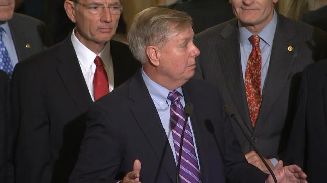 Graham Upbeat About Health Care Repeal Effort