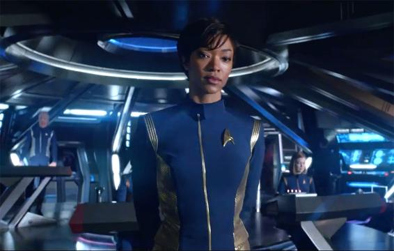 Actors Sonequa Martin-Green and James Frain talk to USA TODAY's Bill Keveney about the privilege and responsibility of being part of CBS All Access's 'Star Trek: Discovery.'