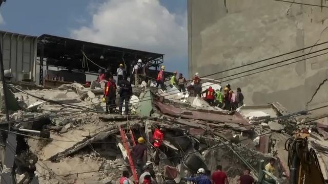 Raw: Mexico quake death toll continues to rise