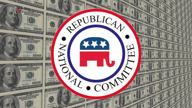 The RNC is spending money to cover the Trump family's legal fees