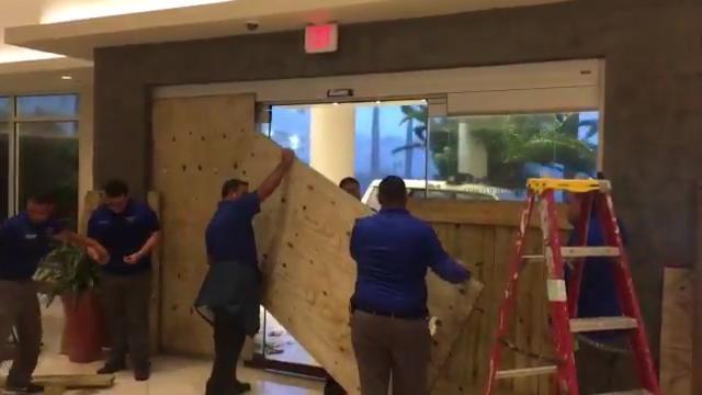Hurricane Maria batters Puerto Rico