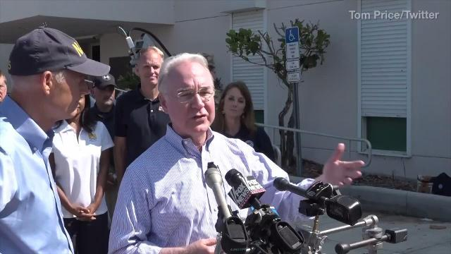 Report: HHS Secretary Tom Price took private jets for work