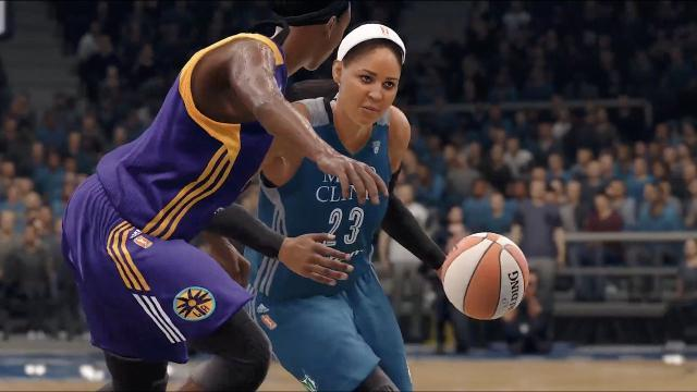 WNBA finally gets its due in a new video game