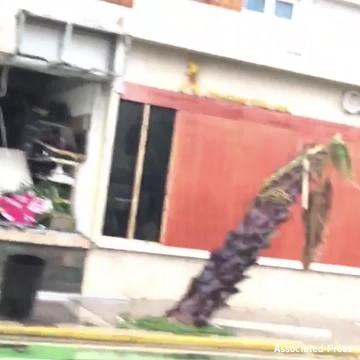 Hurricane Maria causes damage in Puerto Rico