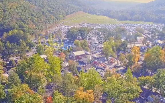This trackless roller coaster is like nothing you've ridden before