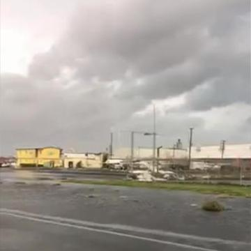 Planes flipped like toys at a Puerto Rican airport