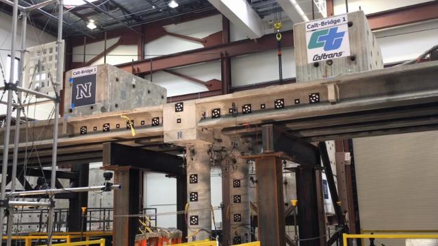 Nevada Quake Lab Tests New Bridge Design