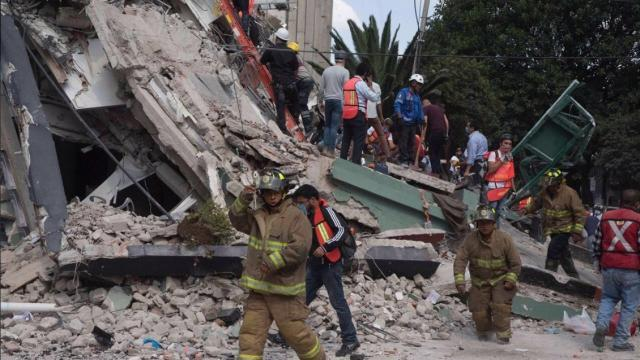 Rescue operations continue after Mexico's deadly 7.1 magnitude quake