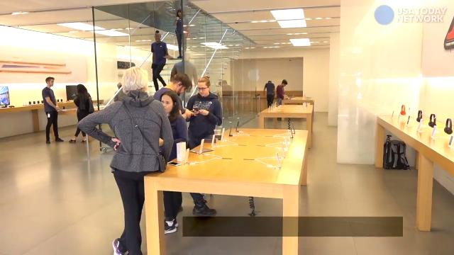 Lines very short for iPhone 8 launch