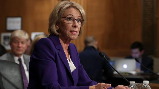DeVos' Title IX proposal for investigating sexual assault is already policy at some colleges. Hearings are traumatic for both sides.