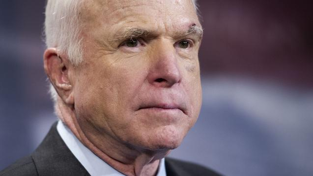 McCain makes decision on GOP healthcare bill