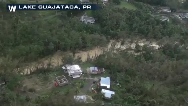 Raw: Failing dam threatens Puerto Rico