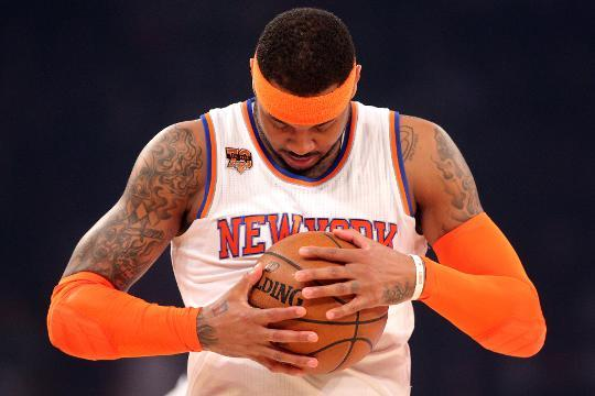 Carmelo Anthony acquired by Oklahoma City Thunder