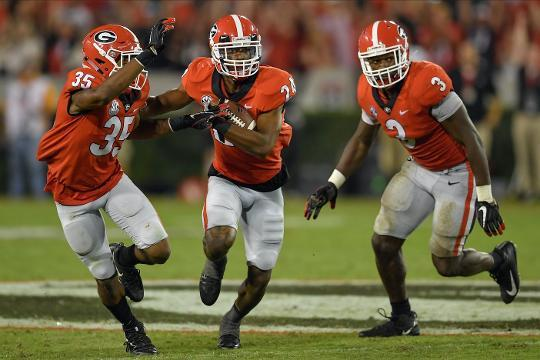 Amway Coaches Poll Week 3: Georgia's defense looks dangerous