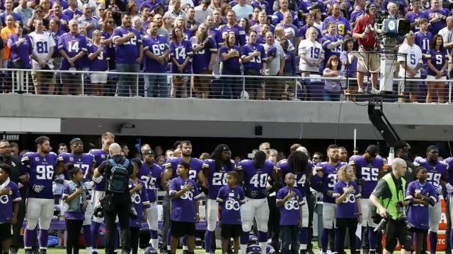 200 NFL players protest during National Anthem