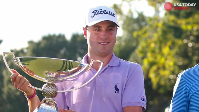 Justin Thomas wins FedExCup title, $10 million bonus; Xander Schauffele wins Tour Championship.