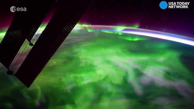 Spectacular aurora borealis time-lapse video looks unreal