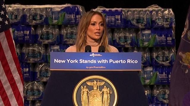 Jennifer Lopez donates $1 million to Puerto Rico