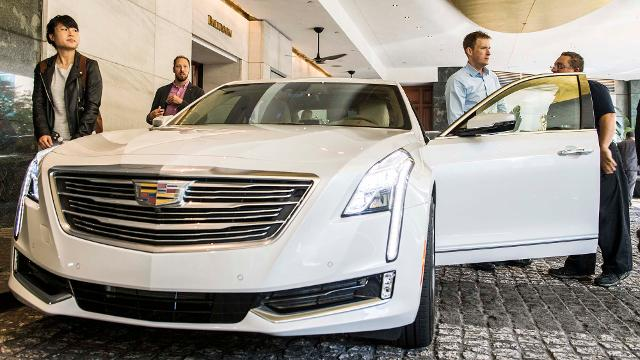 USA Today's Nathan Bomey takes Cadillac's Super Cruise for a test drive.