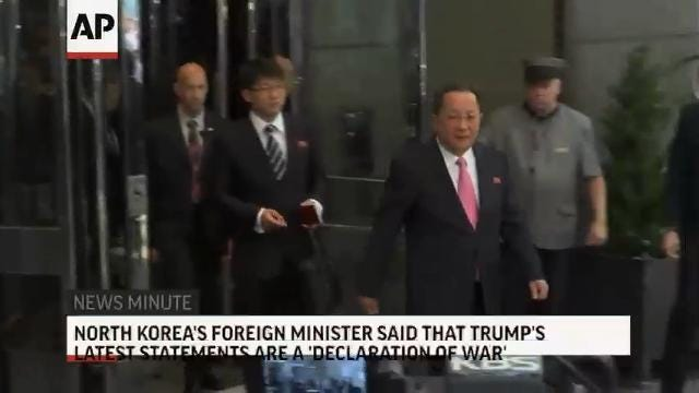 AP Top Stories Sept. 25, 2017