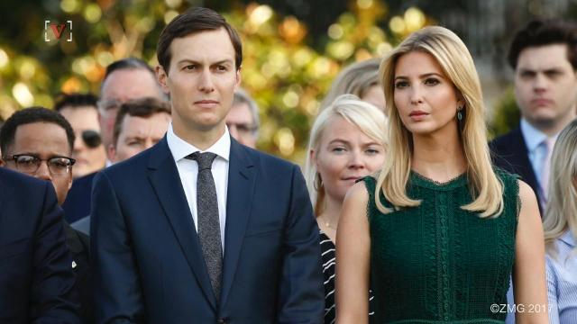 Ivanka Trump used a personal email account for government business