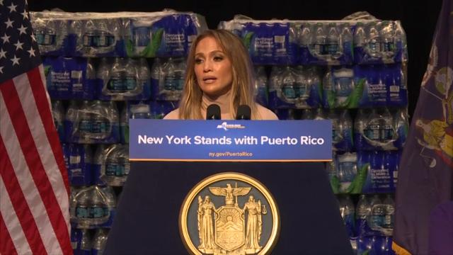 JLo donates $1 million to hurricane relief