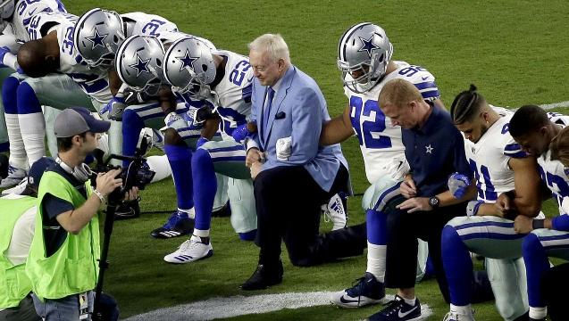 Jones: Cowboys showed unity and respected flag