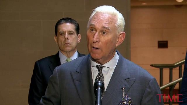 Roger Stone asserts that Trump campaign did not collude with Russia