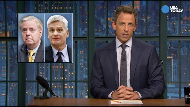 Comics on GOP health care fail in Best of Late Night