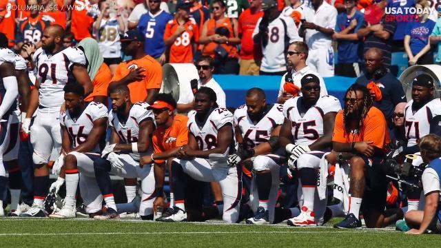 NFL fans react to the recent anthem protests
