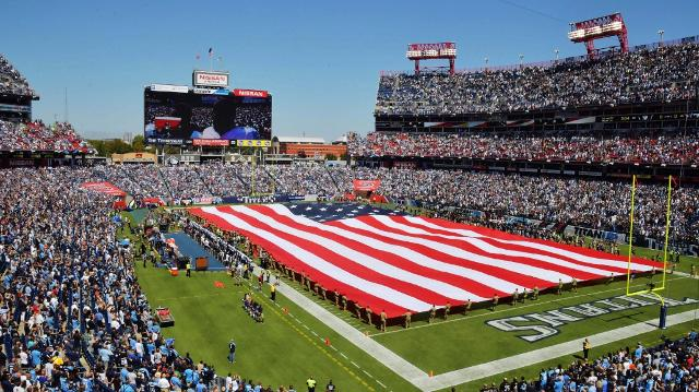 The history and (mis)use of the flag, national anthem in sports