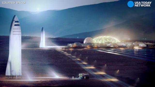 Elon Musk is building a 'big freaking rocket' to colonize Mars